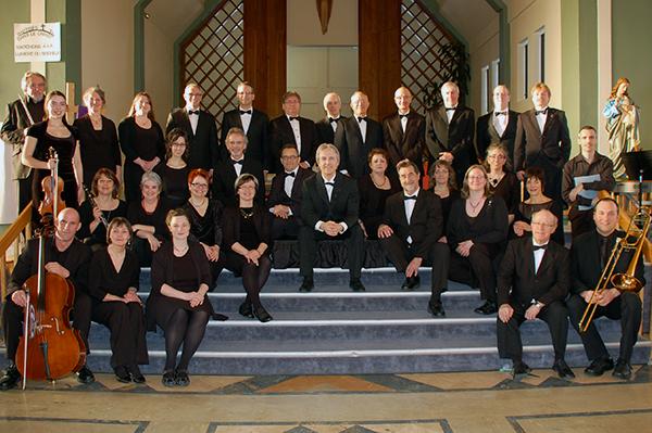 L'Ensemble vocal Florilège à l'église de Macamic, 29 mars 2014